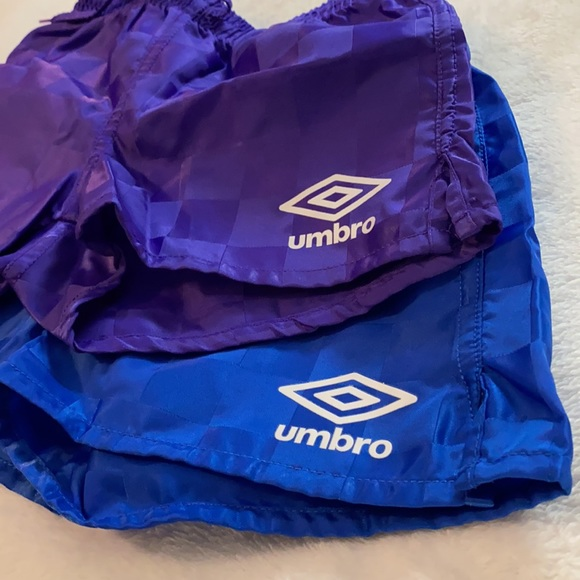 Umbro Youth Checkerboard Soccer Shorts {Lot of 2}